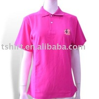 Women baggy uniform Polo shirt