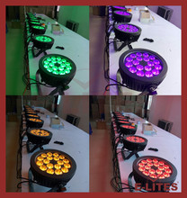 18*15W RGBWA+UV led stage par light/ background stage curtain light/6in1 led par can