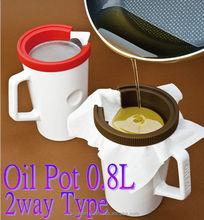 Aceite olla de cerámica herramientas de cocina de interior y útil artículo