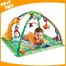 Rainforest melodies and lights deluxe gym best plush baby play mat wholesale
