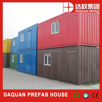 2015 Hot seller daquan brand 20ft 40ft shipping container house for rent(Full furnished)