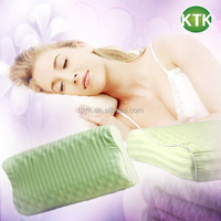 Organic cotton filled Magnetic cervical spondylosis massage pillow