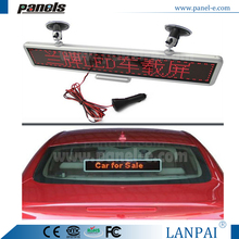 Hot sale new Model No. C16128R-Car full color programmable led moving sign