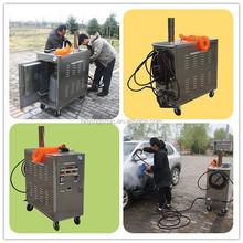 2015 CE 12*4V LPG mobile 20bar auto vapor steam auto spa car wash, auto spa car wash machine