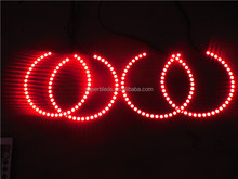 Newest model universal 3014 SMD led angel eyes halo rings 8000K pure white SMD led lamp
