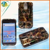 For Samsung Galaxy S II T989 glossy crystal 2D hard design case