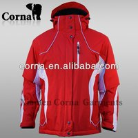 2014 new nylon waterproof outdoor jacket winter women ski wear