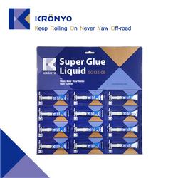 KRONYO cyanoacrylate adhesive super glue 502 super glue