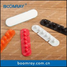 Ningbo Boomray factory hot sale PP multipurpose electronic colorful cable clips tie wire winder office gift item