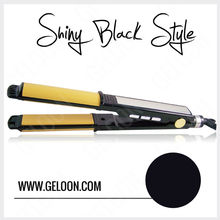 2 in 1 ceramic hair straightener professional and curling iron