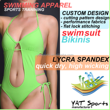 Water sports Romantic Comfortable Straps custom design swimming Newest Triangle Halter Bikini