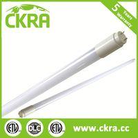 saving-energy CE ROHS ETL DLC approved ratatale cap 18w price led tube light t8