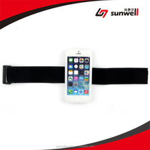 For iphone 5 Flexible Silicone Gym Running Armband
