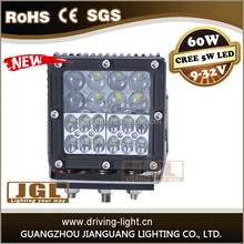 6 INCH 60W LED WORK LIGHT BAR SPOT/COMBO LIGHT 4X4 OFFROAD LAMP 10-30V car led headlight for heavy duty with CE ROHS