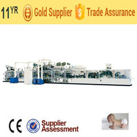 MH-3Y Semi-automatic Economical High Speed Baby Diaper Production Line