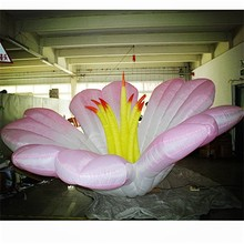 wedding inflatable flower lily