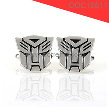 Best selling transformers theme man cufflink 2015 alibaba china factory supply