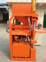 Hot sale high quality qt1-10 automatic clay brick manufacturing plant