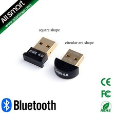 Hot Sale Mini USB Bluetooth Adapter V 4.0 Dual Mode Wireless Dongle Wholesale CSR 4.0 For Win7 /8/XP 25