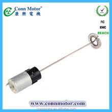 2015 New Arrival economic 6v low rpm high voltage dc motor