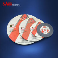 Cutting disc wiht resin bonding and specially sharp cutting for stainless steel