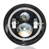 "7"" Inch Headlights DOT approved For Jeep Wrangler JK CJ TJ LED High/low Fog Headlamp Truck"