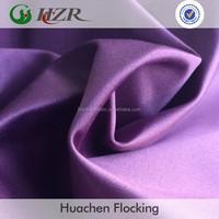 Satin Drapery Fabric Silicone Coated Woven Technic Blackout Fabric