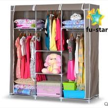 """Pn Hot 66 """" portátil armario suspensión de paño estantes de Rack armario de almacenamiento organizador armario dormitorio"""
