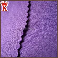 China supplier wholesale double interlock plain dyed or printed ponte de roma knit jersey fabric rayon nylon punto roma fabric