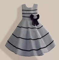 2015 Summer Baby Gil's Dress Casual Sleeveless Dresses Kids Clothes Wholesale One-Piece Baby Girl Dress 6-10T