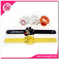 Free samples best selling items brand wrist band girls watches slap band watch
