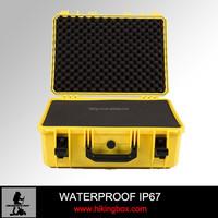 Waterproof carrying cases handheld plastic suitcase