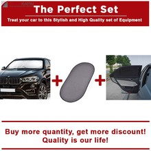 The Perfect Set Front Windshield Sunshade+Rear Window Sunshade+Car Curtain