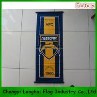 custom printed sport advertising flag