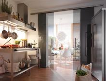 aluminum glass doors hardware system