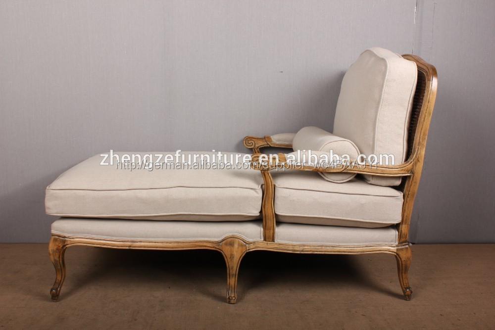 Franz Sisch Landschaft Flachs Weichen Eiche Holzstuhl Chaise Lounge Chair Verstellbares Sofa Sessel