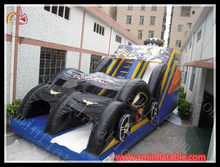 inflatable batman slide / inflatable toboggan slide