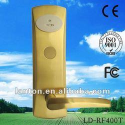 Copper intelligent electronic card swipe locks