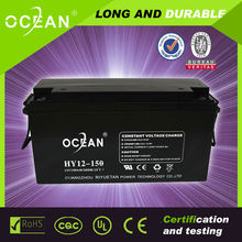 lead acid battery 12v 150ah just fits recycling equipment