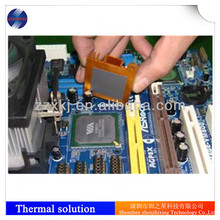 Thermal conductive silicone adhesive for electronic product