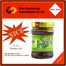Chinese Toon Sprouts Natural Hot Sauce Canned Food Factories