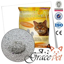 crushed shape bentonite cat litter kitty sand