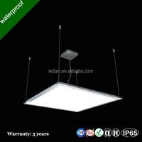 wholesale led square panel light 85-265V 120 degree round square slim glass panel led ceiling led light with CE