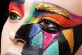 Boa cobertura FDA aprovou Uv à prova de água à base de água rosto e pintura corporal