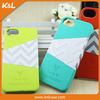 2015 Hot Selling Wave Pattern PU Leather Cover Case for Iphone 5s, Waterproof for iphone 5s