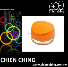 Empty Plastic Cosmetic Packaging cream Jar