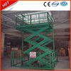 Stationary electric motorcycle lift table/Scissor lift for cargo