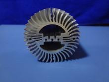 sunshape aluminum heatsink/radiator, high difficulty aluminum profile for sunshape heatsink/radiator