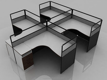 HSTD China Modern office furniture,MFC manager table,fashion Desk