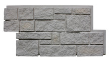 polyurethane faux rock panel, artificial stone stacked flexible stone veneer